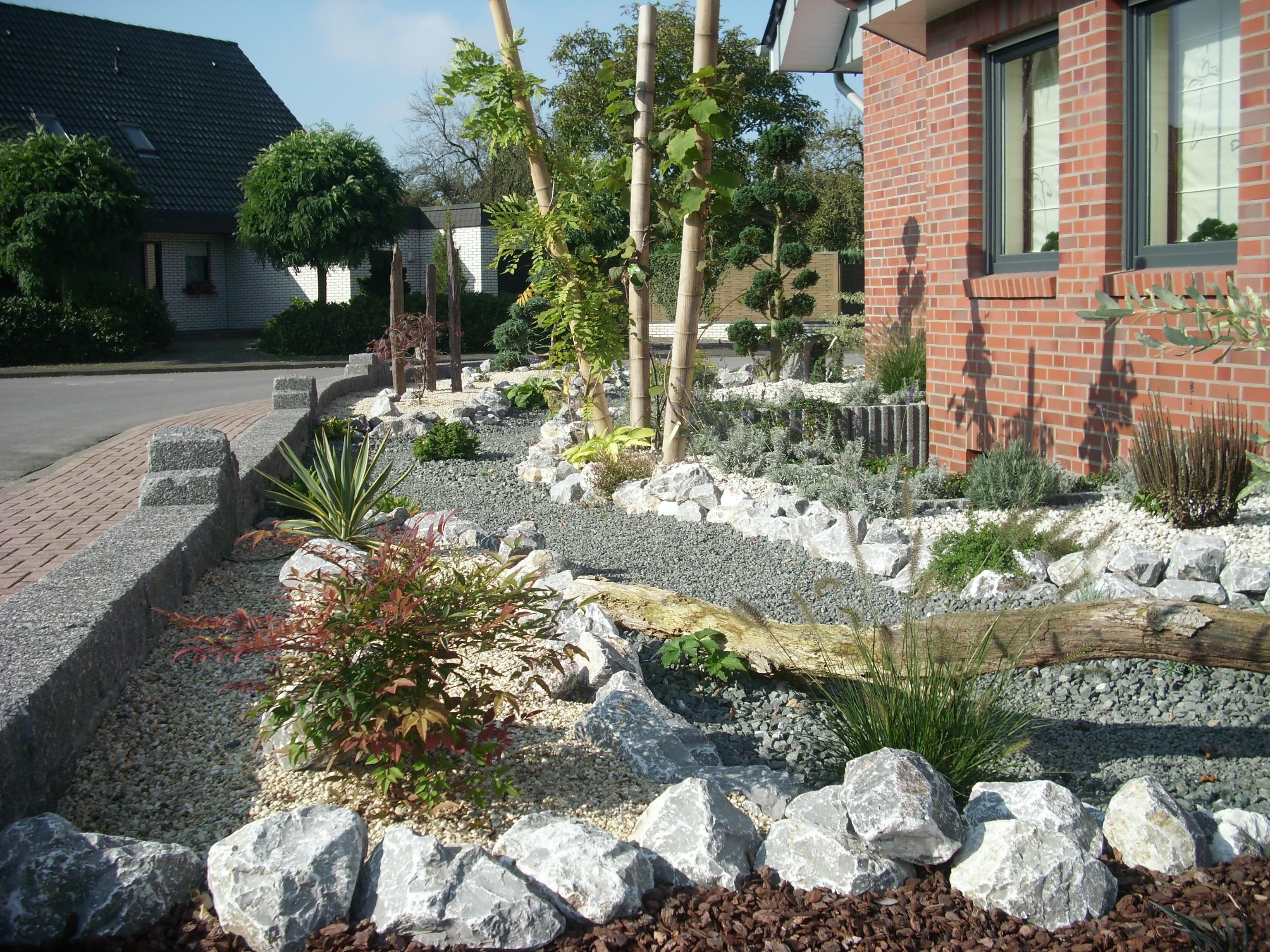 Inspirierend Gartengestaltung Kies Design